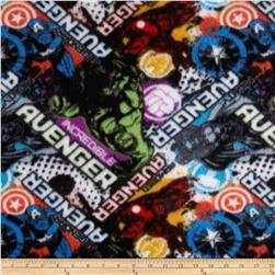 Marvel Comics Fleece Avengers Toss Blue