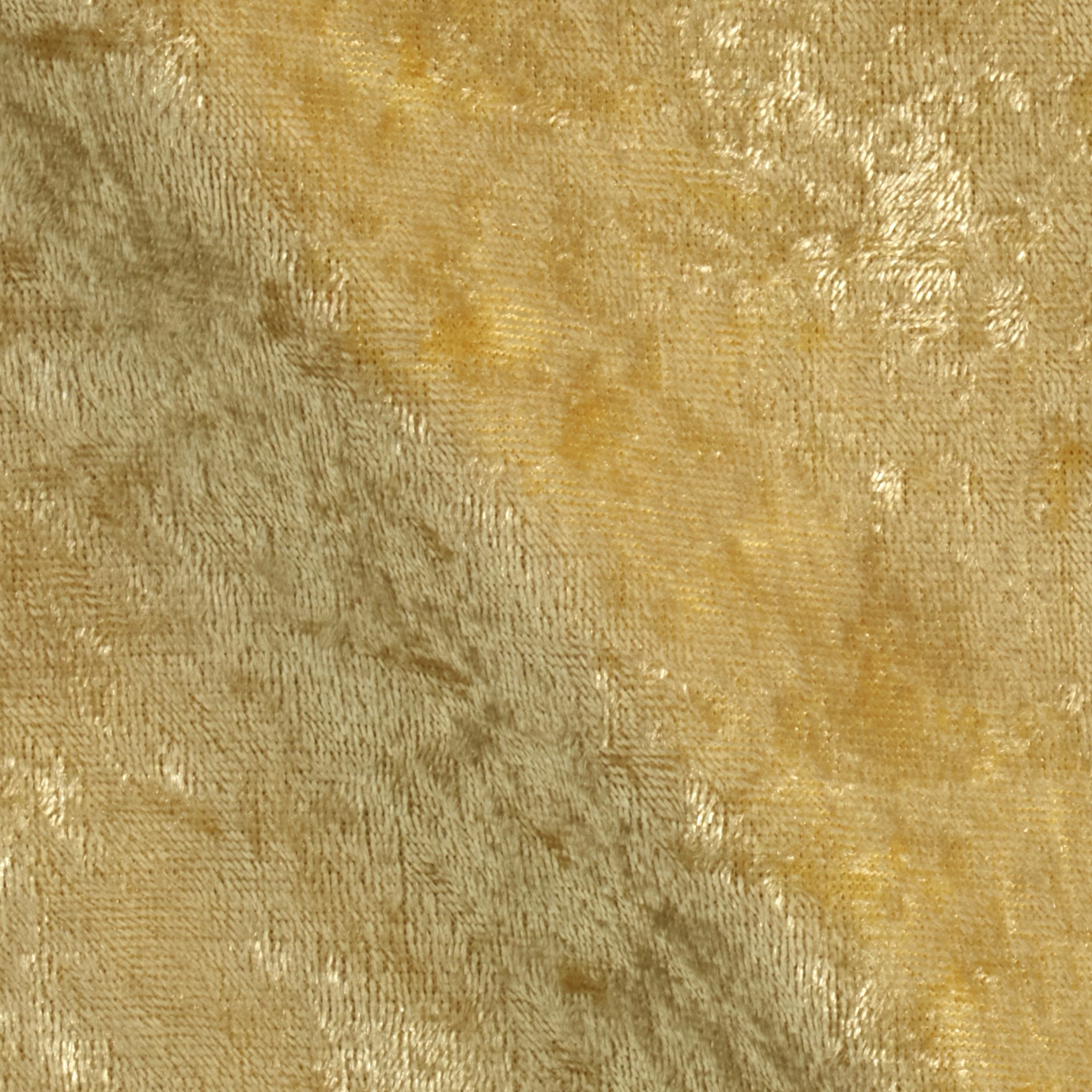 Stretch Panne Velvet Soft Gold Fabric
