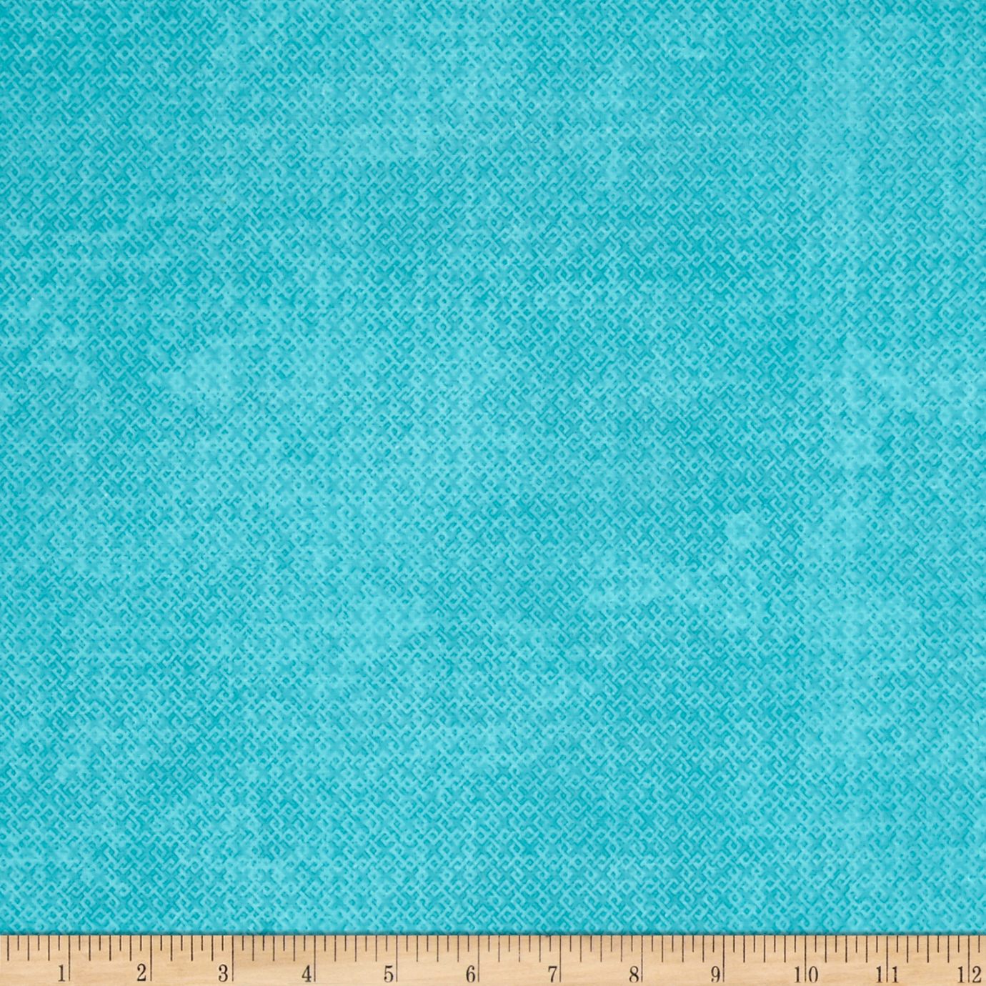 Essential Criss Cross 60 Flannel Turquoise Fabric