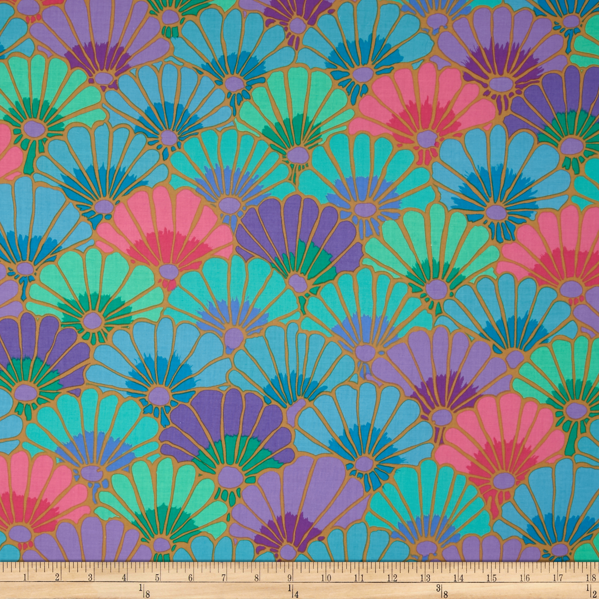 Kaffe Fassett Thousand Flowers Vibrant Fabric 0410835