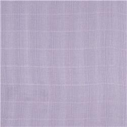 Embrace Bamboo Double Gauze Solid Lavender
