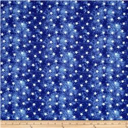 Jim Shore Patriotic Patriotic Stars Blue