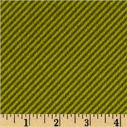 Flannel Diagonal Stripe Fern