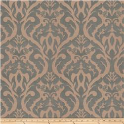 Fabricut Costner Damask Faux Silk Horizon