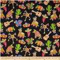 Fabric Fiesta Fiesta Toss Black