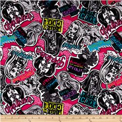 Monster High Stickers Pink