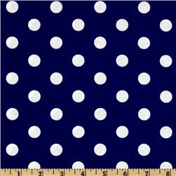 Spot On Polka Dots Navy