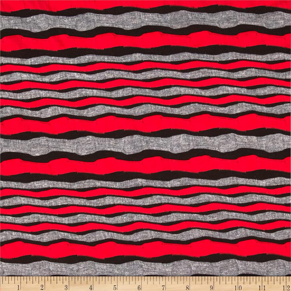 Utopia Knit Grey/Red