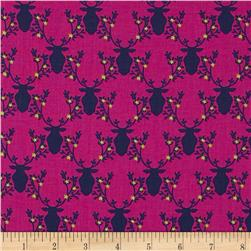 Michael Miller Rustique Trophy Orchid Fabric