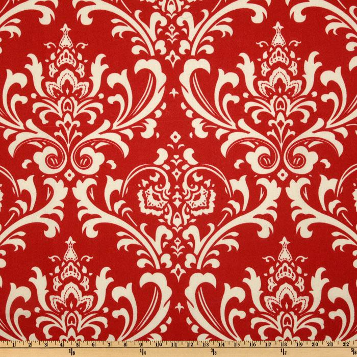 Premier Prints Indoor/Outdoor Ozborne American Red