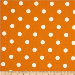 Premier Prints Polka Dot T-Orange Fabric
