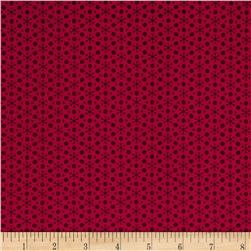Sophia Dot Geo Cranberry