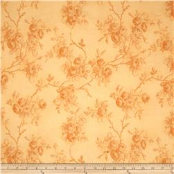 World of Romance Monotone Floral Peach