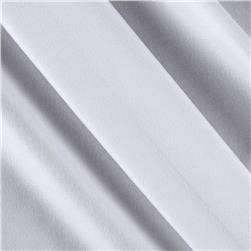 Poly Spandex Stretch ITY Knit Solid White
