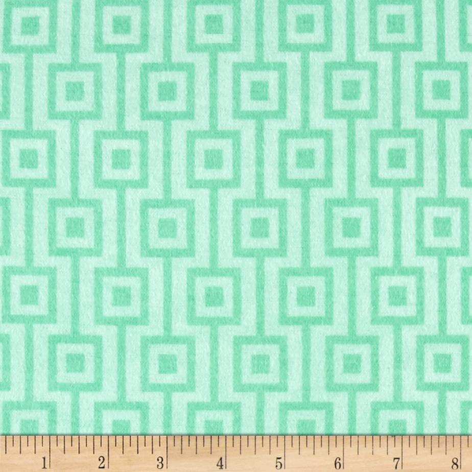 Comfy Flannel Geo Mint