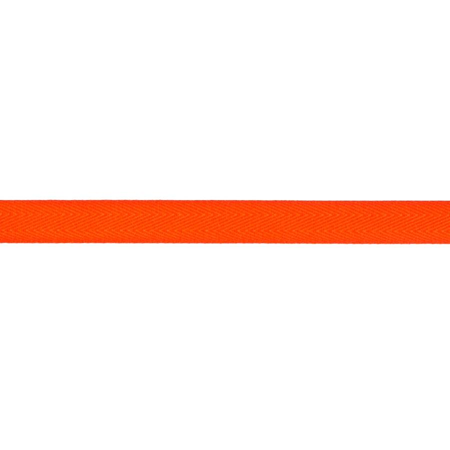 "May Arts 5/8"" Twill Ribbon Spool Orange"