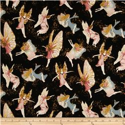 Fairy Briar Metallic Fairies Antique Black