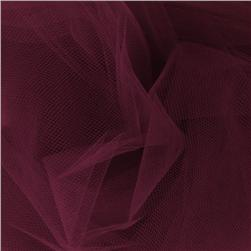 108'' Wide Nylon Tulle Wine