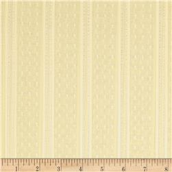 Clip Dot Metallic Stripe Summer Yellow