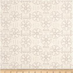 Riley Blake Bee Backgrounds Cool Gray