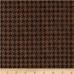 Penny Rose Menswear Houndstooth Brown