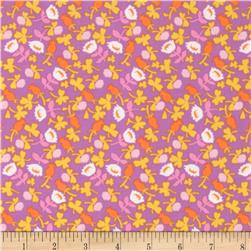 Heather Ross Briar Rose Calico Pink/Lilac Fabric