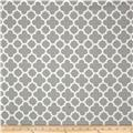 Riley Blake Home Decor Quatrefoil Grey