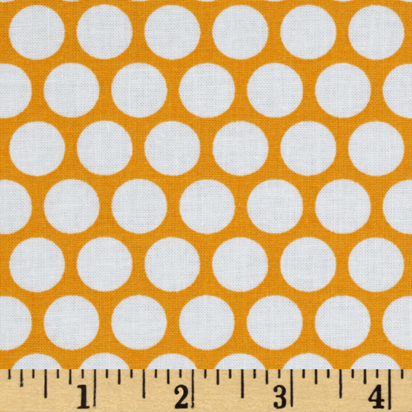 Quiltologie Polka Dot Orange
