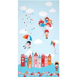 Robert Kaufman Whatever The Weather Border Cloud