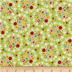 Riley Blake Bloom & Bliss Wreath Green