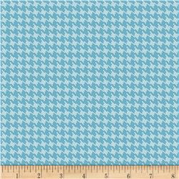 Riley Blake RoseCliff Manor Houndstooth Teal