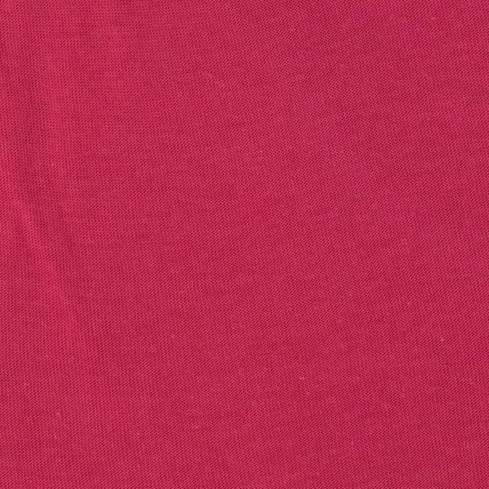 Tissue Cotton Poly Blend Jersey Knit Fuchsia