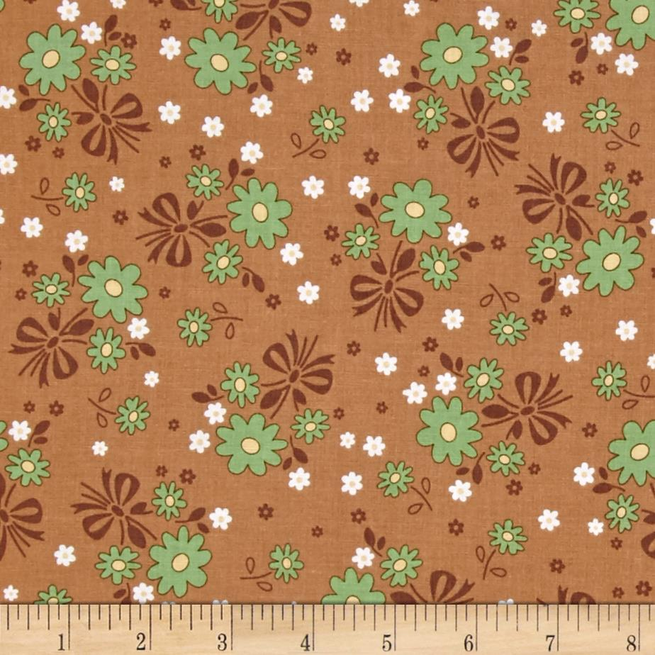 Riley Blake Calico Days Main Floral Nutmeg