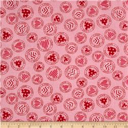Moda Surrounded By Love Stamps Sweetheart Pink