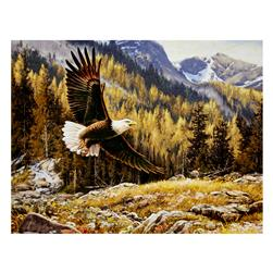 "Penny Rose Majestic Outdoors Digital Eagle 38"" Panel Multi"