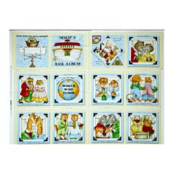 "Classic Storybooks Noah's Ark Album Book 36"" Panel Multi"