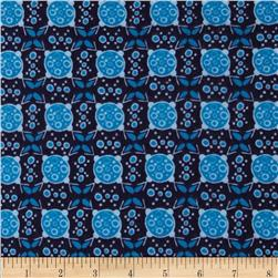 Valori Wells Ashton Road Flannel Geo Plaid Navy