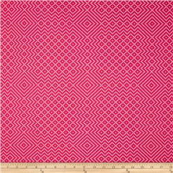 Joel Dewberry Atrium Needlepoint Fuchsia