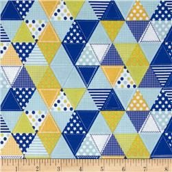 Riley Blake Summer Celebration Summer Quilt Blue