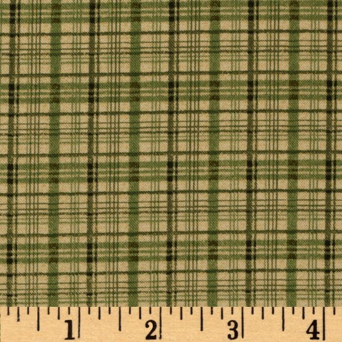 Wintersong Collection Winter Plaid Green/Sage