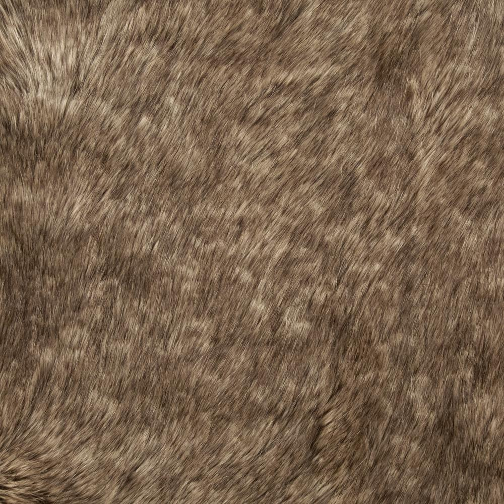 Faux Fur Racoon Tan