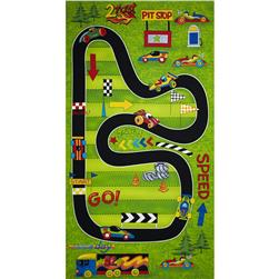 Race Day Race Track Playmat 24 In. Panel