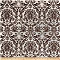 Premier Prints Traditions Chocolate/White