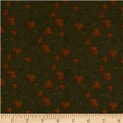 Moda Boundary Water Flannel Maple Medley Forest Green