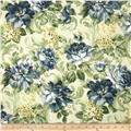 Tempo Indoor/Outdoor Jenna Floral Khaki/Blue/Green