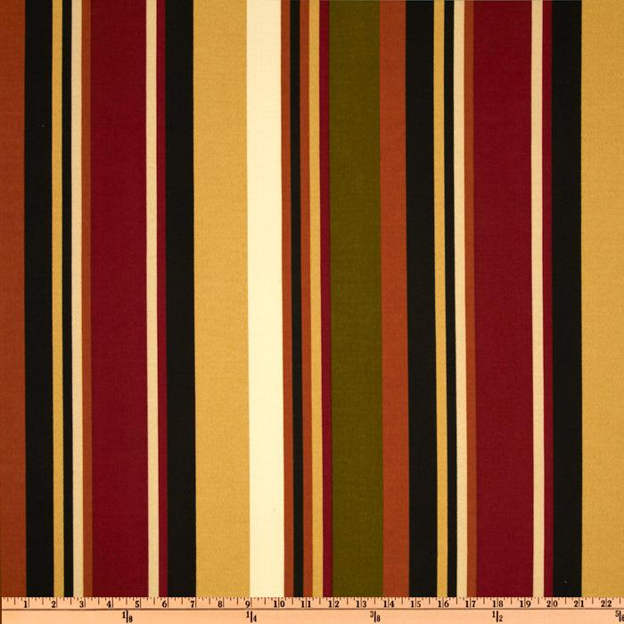 Richloom Solarium Outdoor McCoury Stripe Spice
