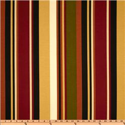 Richloom Solarium Outdoor McCoury Stripe Spice Home Decor
