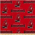 NFL Broadcloth  Tampa Bay Buccaneers Red