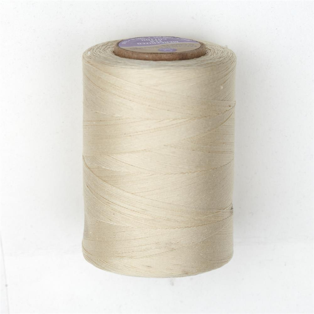 Cotton Machine Quilting Thread 1200 YD Cream