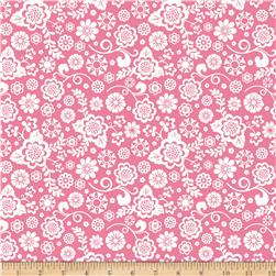 Riley Blake Fancy Free Fancy Floral Pink